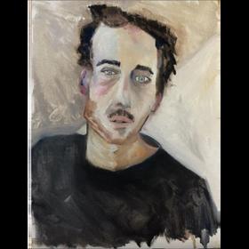 Bruno 2020 óleo sobre tela 40 x 30 cm