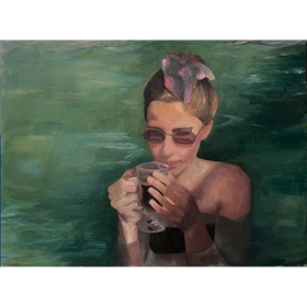 Heidi 2020 óleo sobre tela 30 x 40 cm