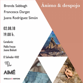 Exposición: 'Ánimo & despojo' en Casa Salvador del 03.08.18 al 23.08.18