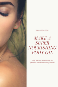 all natural body oil to nourish and moisturize winter skin