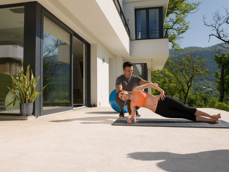 How home personal training helps busy people