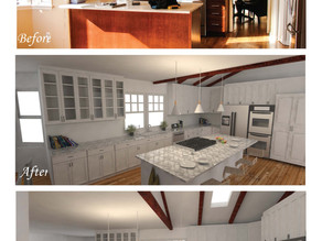 Kitchen Before & After's