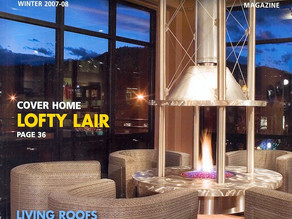 "A Lofty Goal- Transforming ""Blank Slate"" into a Luxurious Downtown Loft"