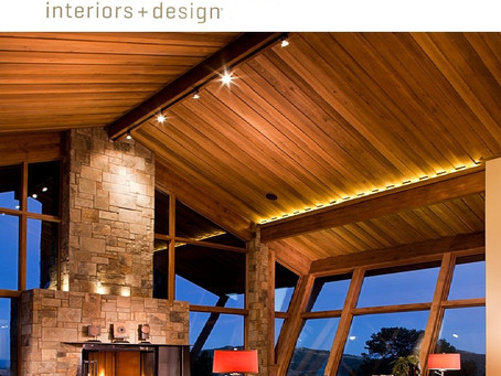 Featured in Luxe Magazine - Mountain Contemporary