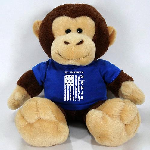 All American Ninja Plush Monkey