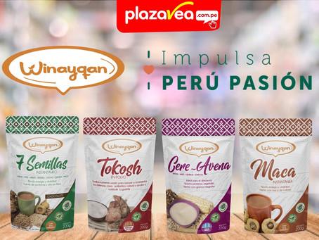 """WINAYQAN es seleccionado para el programa """"Impulsa Perú Pasión"""" de Plaza Vea"""