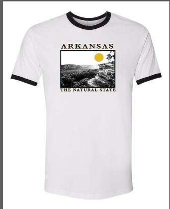 ARKANSAS PHOTO RINGER TEE