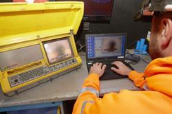 Drainage 2000 Ltd carrying-out a CCTV Survey