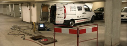 CCTV Drain Survey in Progress