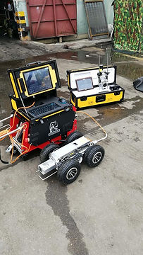 Robotic crawlers for sewer inspections from Shenzhen Senzor Tek Co., Ltd