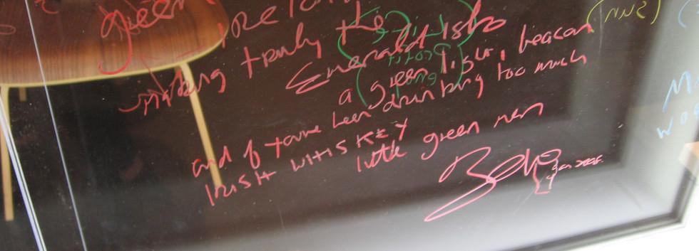Bono's Signature