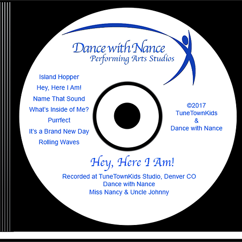 CD with 7-Songs (Instrumental Version)