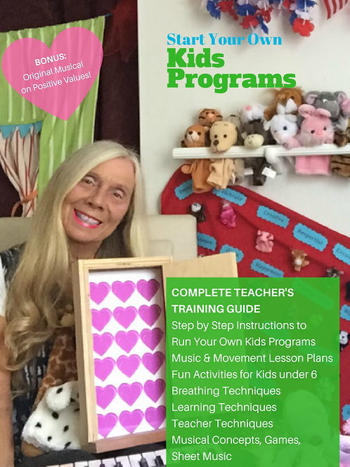 Start Your Own Kids Programs! (Complete Teacher's Training Guide)