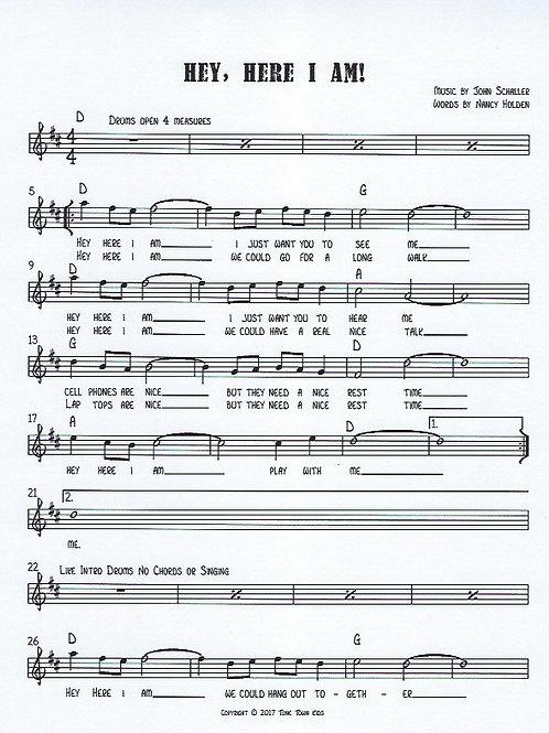 CD & Sheet Music w/ 7-Songs (Instrumental version & Sheet Music)