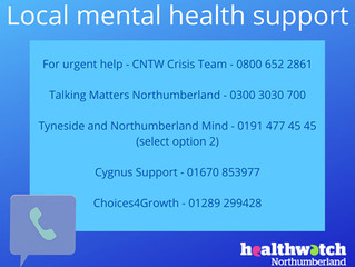 Support for your Mental Health