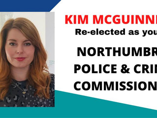 Kim McGuinness Re-elected!