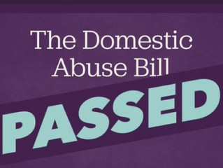 Domestic Abuse Bill NOW LAW