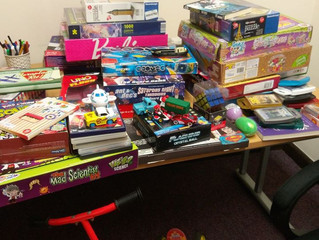Morpeth Methodists Toy Donation
