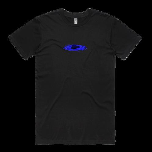 BLUE TEE - Black