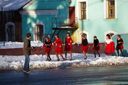 Фламенко на улице
