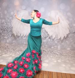 Фламенко с крыльями
