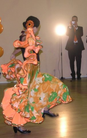 Orange flamenco, 2007
