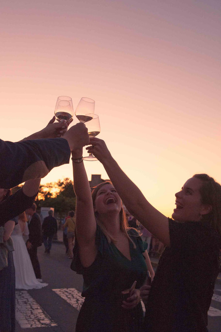 vin d'honneur cocktail mariage