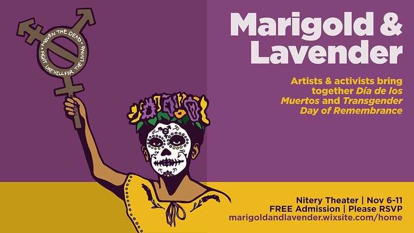 Marigold & Lavender. Graphic design by Bernardo Velez.