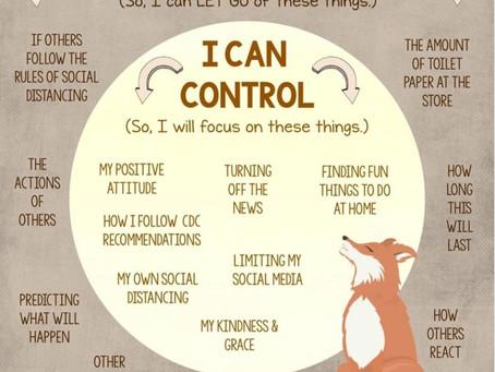 Was ich nicht kontrollieren kann, lasse ich los...