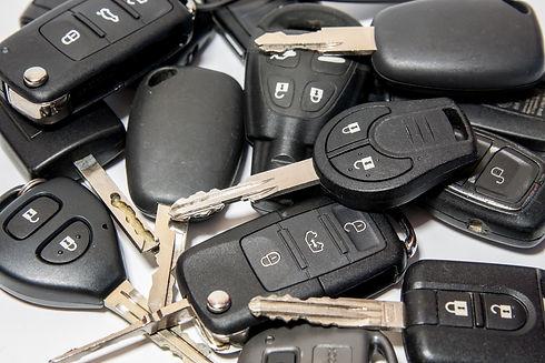 Car key with remote control. .jpg