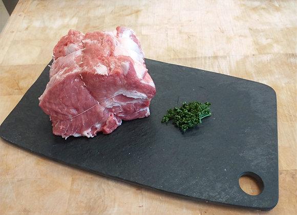 Rôti de porc échine ( la pièce d'un kilo)