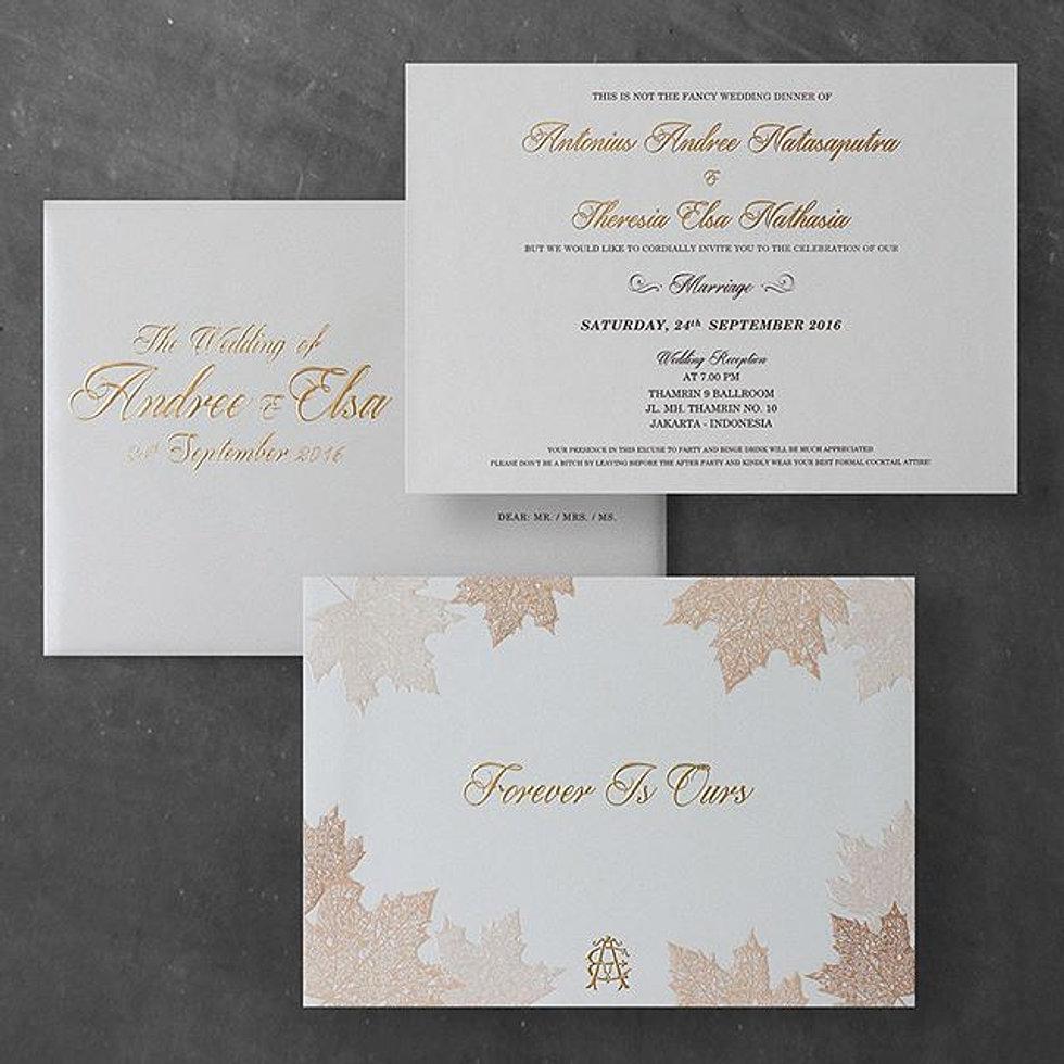 Meltiq wedding invitation autumn style wedding invitation for andree elsa stopboris Choice Image