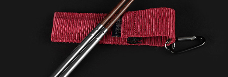 Steel & Wood Pocket Chopsticks
