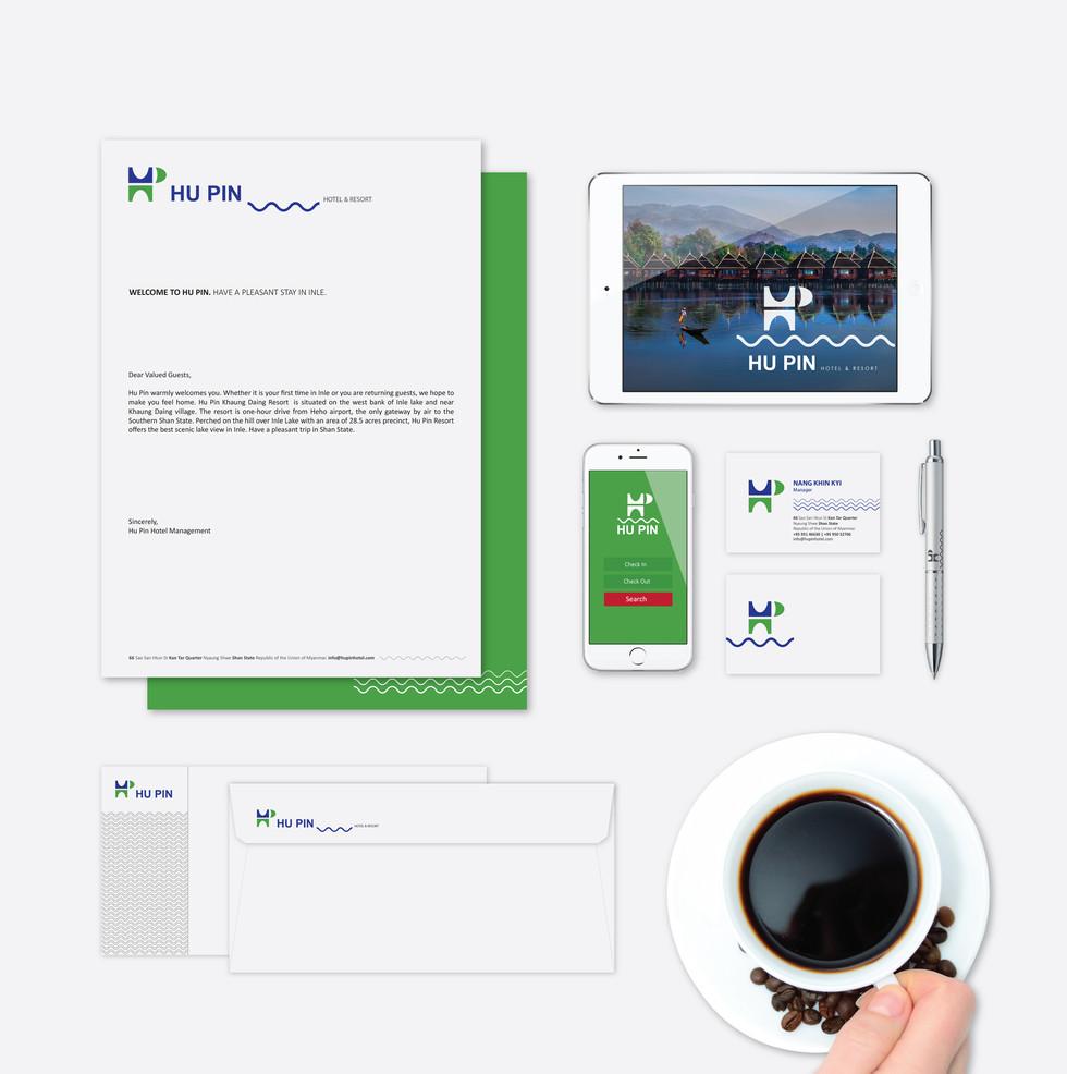 Hu Pin Resort Branding Package