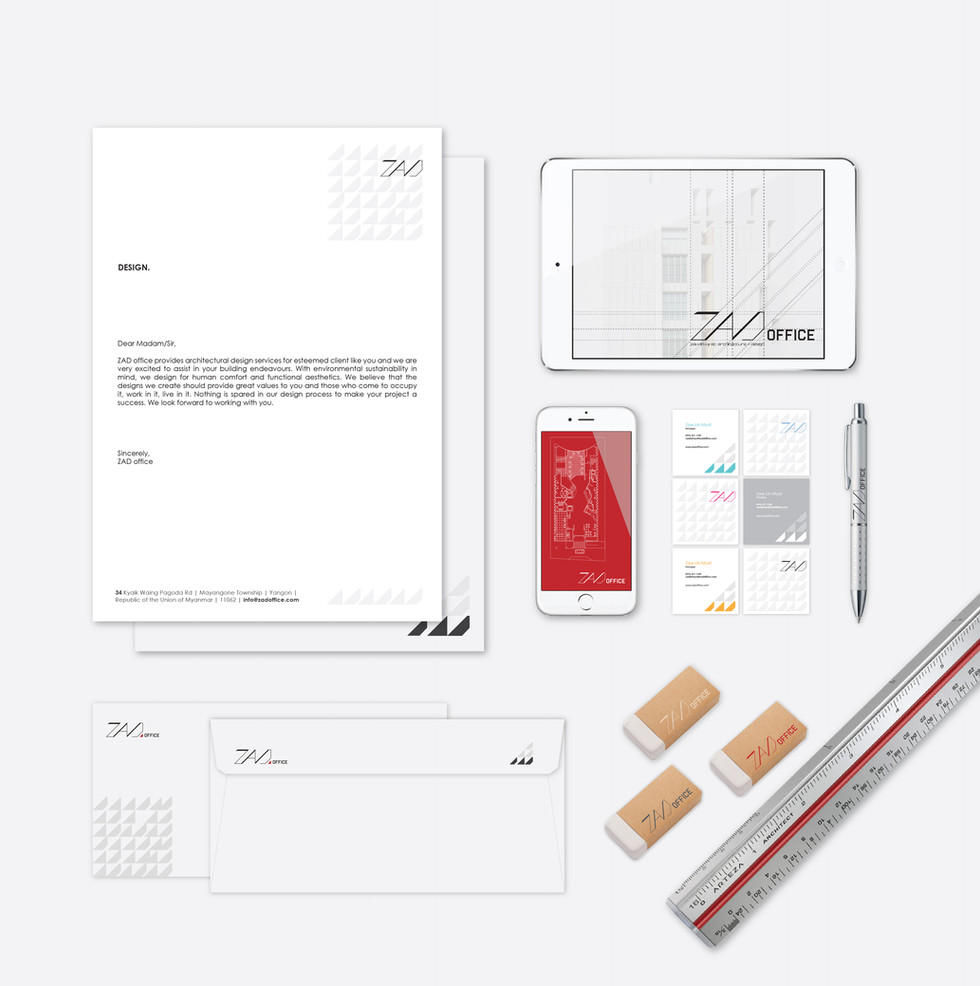 ZAD Office Branding Package