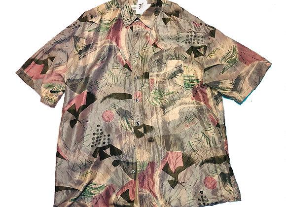 Vintage Shirt 100 % Silk