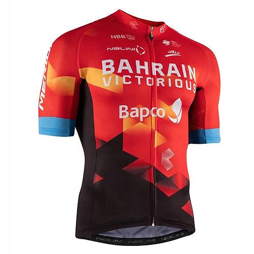 BAHRAIN VICTORIOUS  2021 ORIGINAL TRIKOT mit durchgehendem Reissverschluss
