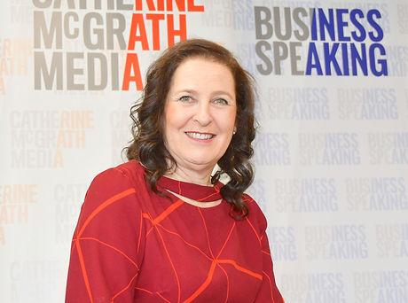 Catherine McGrath, Conference MC, presentation training and public speaking training