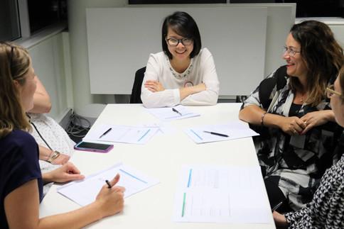 Presentation training Women speaking Canberra