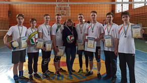 Команда волейболістів КаДЕТ зайняла призове місце у змаганнях