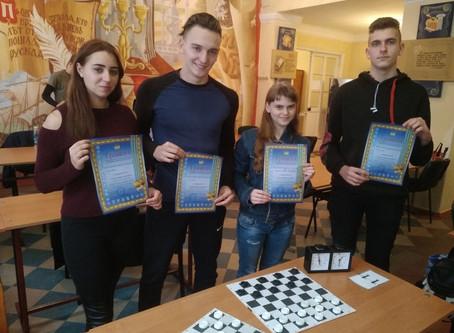 Перемога в змаганнях з шашок