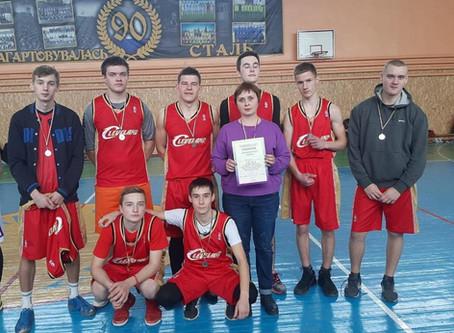 Міські змагання з баскетболу серед юнаків