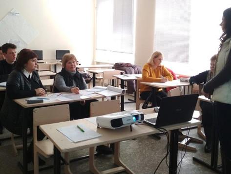 Проведення конкурсу методичних розробок на засіданні РМО викладачів інформатики