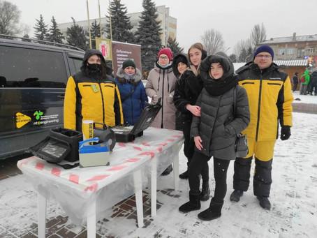 Студенти-екологи взяли участь в інформаційній кампанії «Крок до Безпеки»