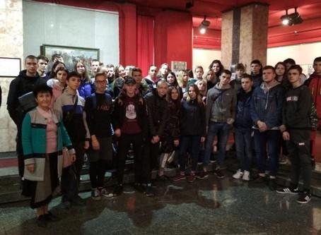 Студенти-будівельники в музеї історії м.Кам'янське