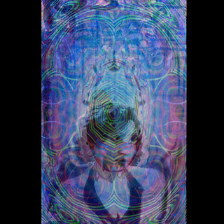 20's Blues with fractal. By Salena Angel