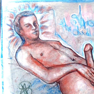 The Exhibitionist from the Artgasmica Series by Salena Angel