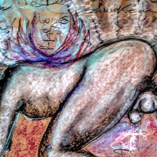 """The Exhibitionist"" ArtGasmica Series by Salena Angel"