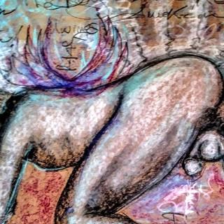 """The Exhibitionist"" ArtGasmica Series by Salena Angel"
