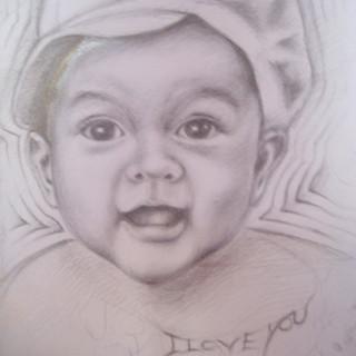 My Daughter's Portrait #1